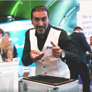 Corporate entertainment in Malta - Magician at Sigma Malta