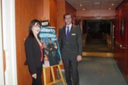 Brian Role and Lola Palmer of Cruise Ship Magic Show - Magician Malta #magicianmalta