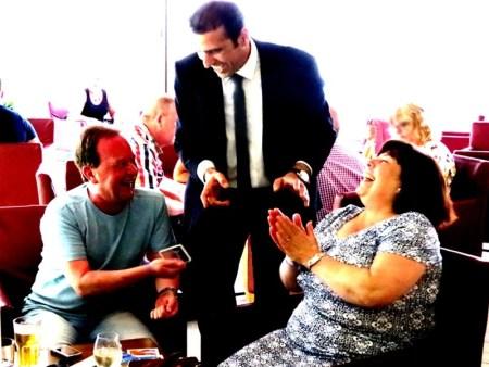 Close Up Magician in Malta Brian Role