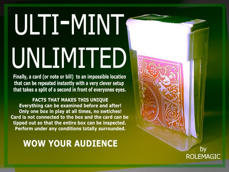 Ulti-Mint Unlimited WOW Your Auidence