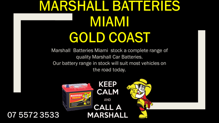 Marshall Car Batteries Miami Gold Coast