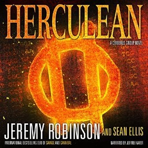 Audiobook: Herculean by Jeremy Robinson & Sean Ellis (Narrated by Jeffrey Kafer)