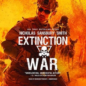 Audiobook: Extinction War (Extinction Cycle #7) by Nicholas Sansbury Smith (Narrated by Bronson Pinchot)