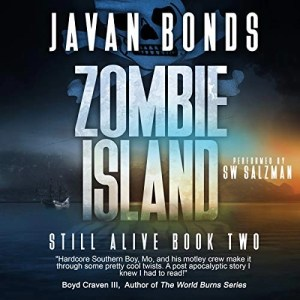 Audiobook: Zombie Island by Javan Bonds (Narrated by S.W. Salzman)