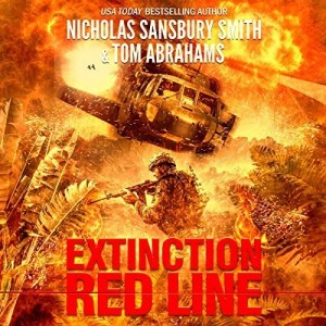 Extinction Red Line by Nicholas Sansbury Smith, Tom Abrahams