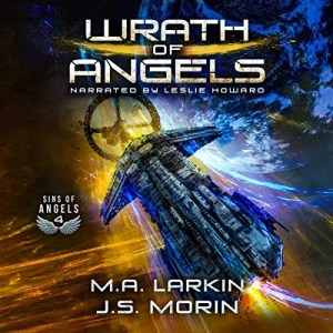 Wrath of Angels by M.A. Larkin, J.S. Morin