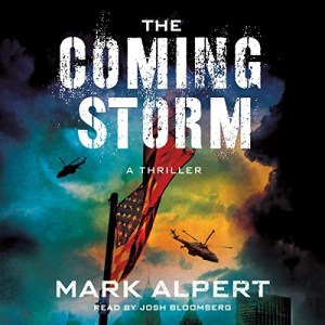 The Coming Storm by Mark Alpert (Narrated by Josh Bloomberg)