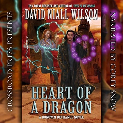 Heart of a Dragon by David Niall Wilson