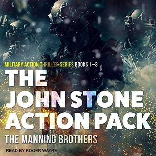 The John Stone Action Pack: Books 1-3 by Allen Manning, Brian Manning