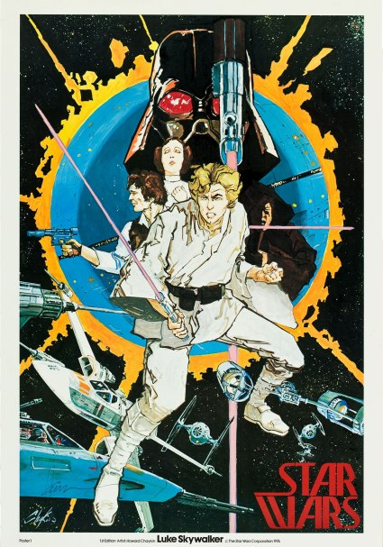 Star-Wars-Autographed-Howard-Chaykin-Promotional-Poster