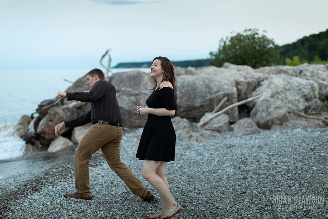 concordia university engagement shoot