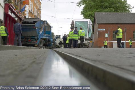 Benburb Street LUAS Crash