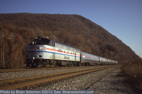 Amtrak on the Hudson