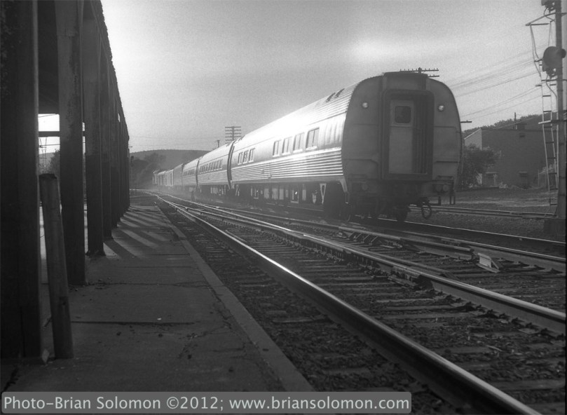 Amtrak at Palmer, Massachusetts.