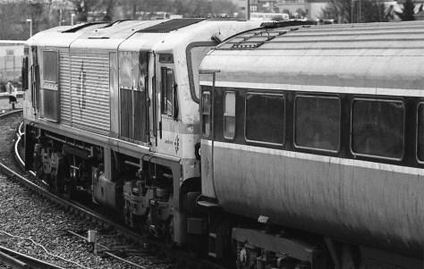 Irish Rail class 201 diesel