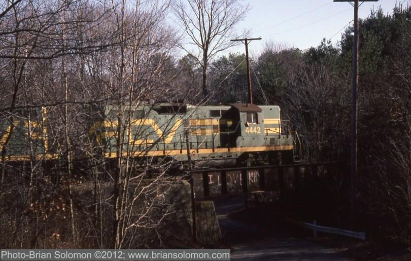 Central Vermont GP9s.