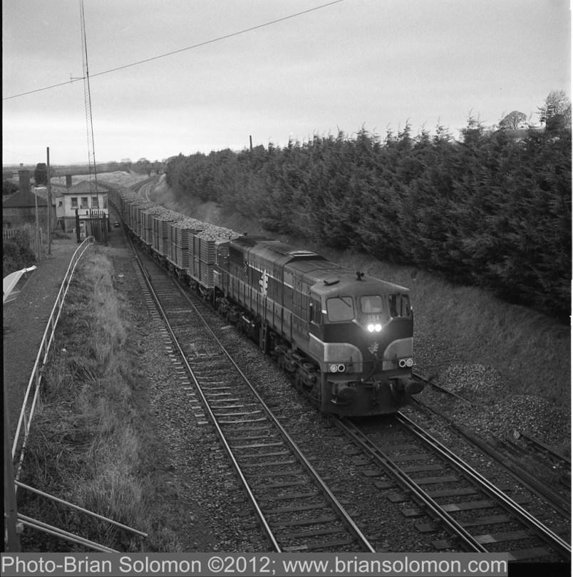 General Motors diesel locomotive in Ireland
