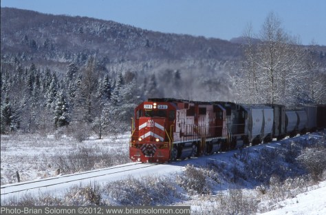 Vermont Railway GP60 at Mount Holly