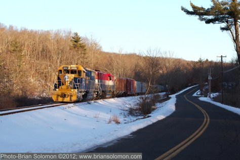 New England Central GP38 3850