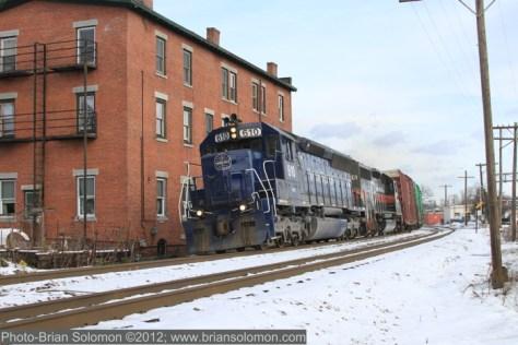 Pan Am Railways freight.