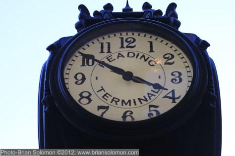 Reading Terminal clock