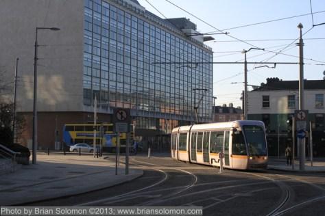 LUAS tram Dublin