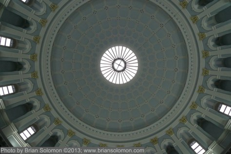 Looking up in the National Museum