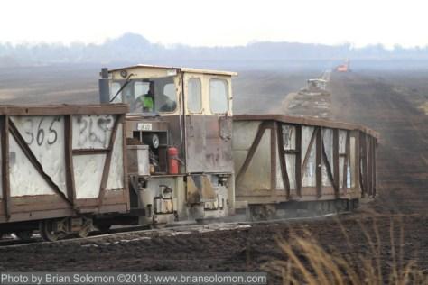 Bord na Mona trains