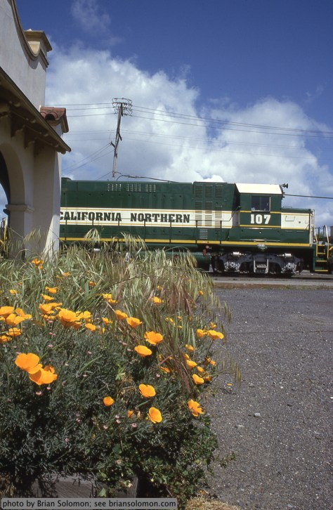 California Northern locomotive.