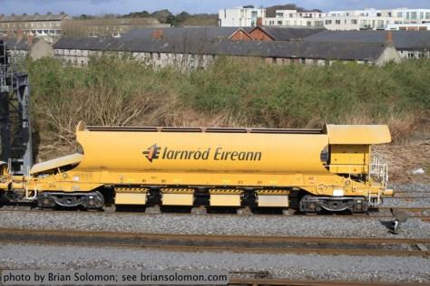 Ballast wagon.