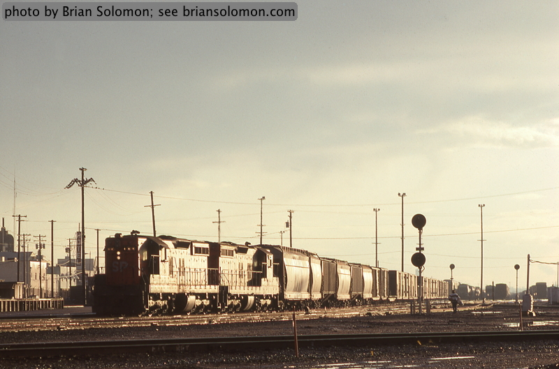 Southern Pacific Roseville Yard.