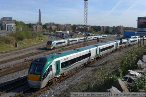Irish Rail trains