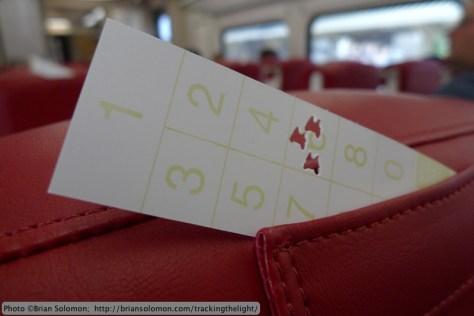 seat check.