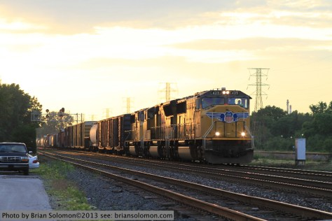 Union Pacific SD70Ms
