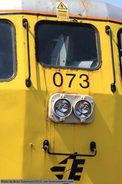 Detail of class 071 diesel.