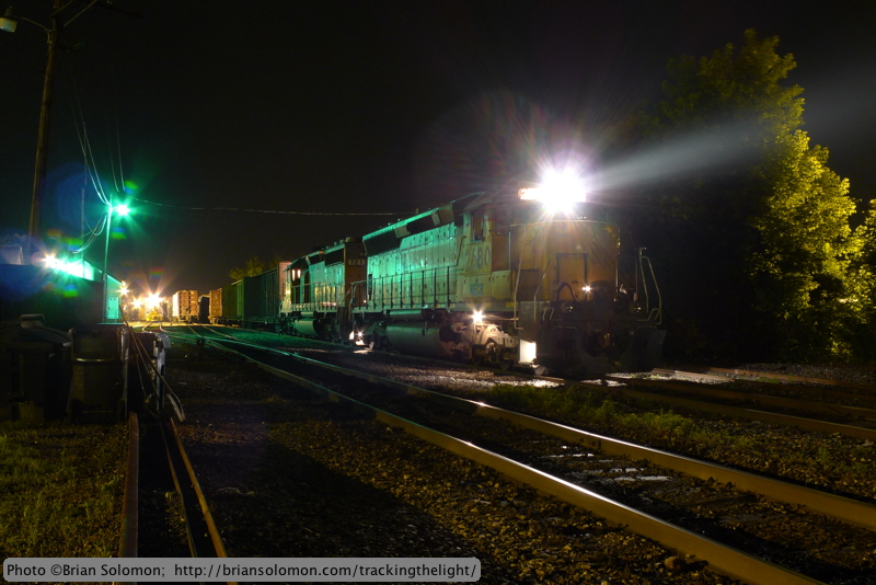 New England Central freights