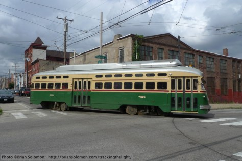 SEPTA 15 streetcar.