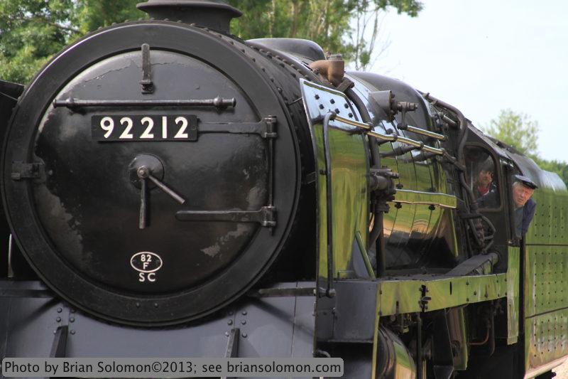 British Rail class 9F 2-10-0 92212