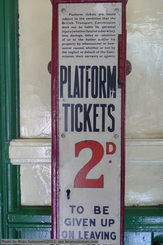 Bluebell Railway at Kingscote.