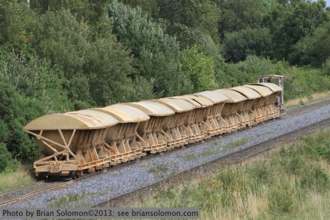 Bord na Mona, ash train.