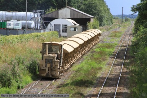 Bord na Mona trains.