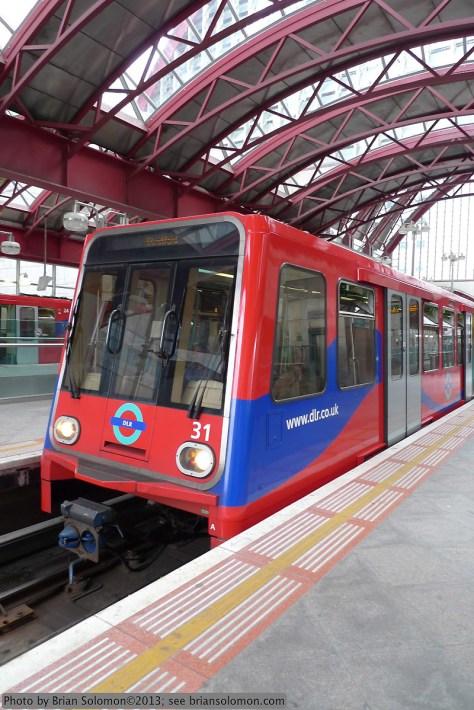 London's Docklands Light Railway