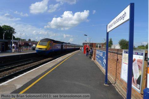 East Midlands Trains HST high speed train