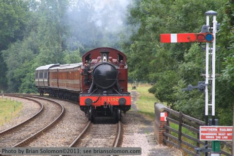 Bluebell Railway at Kingscote.