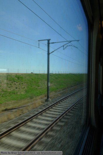 View from the train, Belgium.