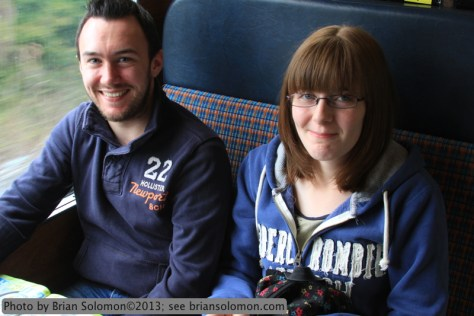 Passengers enjoying the spin behind steam. Canon EOS 7D photo.