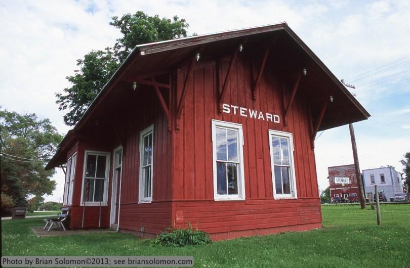 Old railway station.