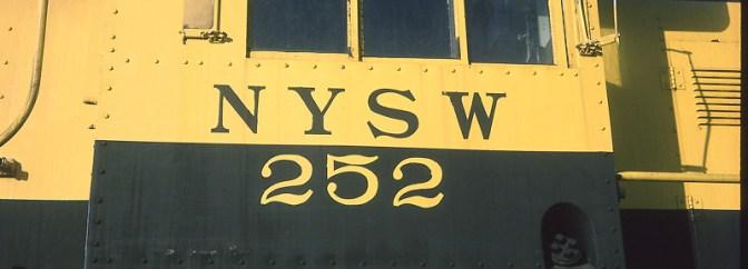 Locomotive Geometry: Susquehanna Alco RS-1