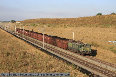 RWE Power coal train