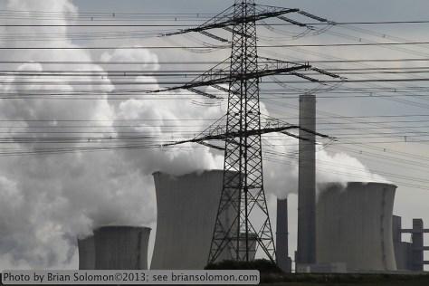 RWE Power's Neurath Power Station.